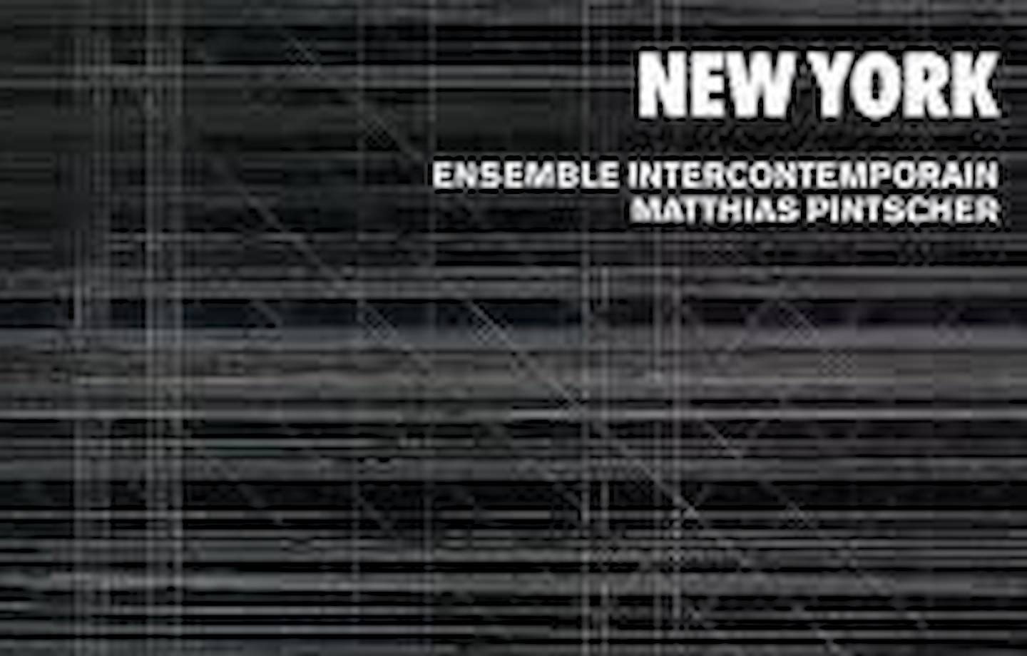 Fulmer Work Released by Ensemble Intercontemporain image